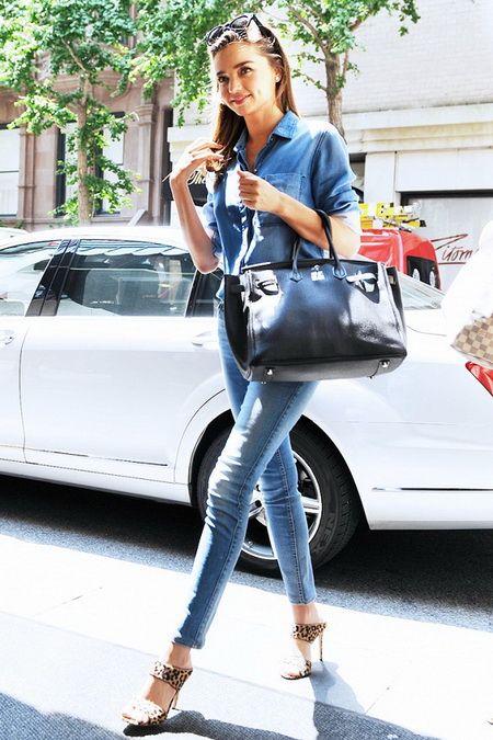 米兰达·可儿的时尚职场穿搭